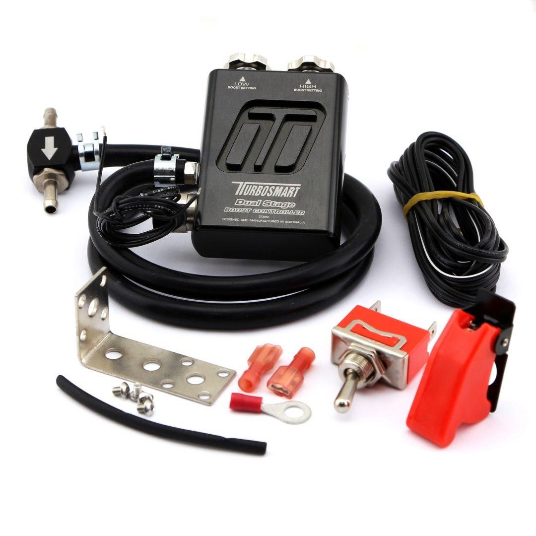 Turbosmart Manual Boost Controller Dual Stage V2 Black - GRUBYGARAGE - Sklep Tuningowy